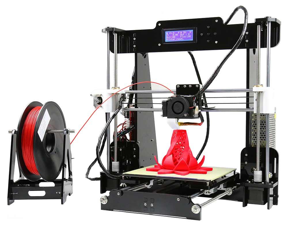 Anet A8, la impresión 3D para casa tiene nombre propio
