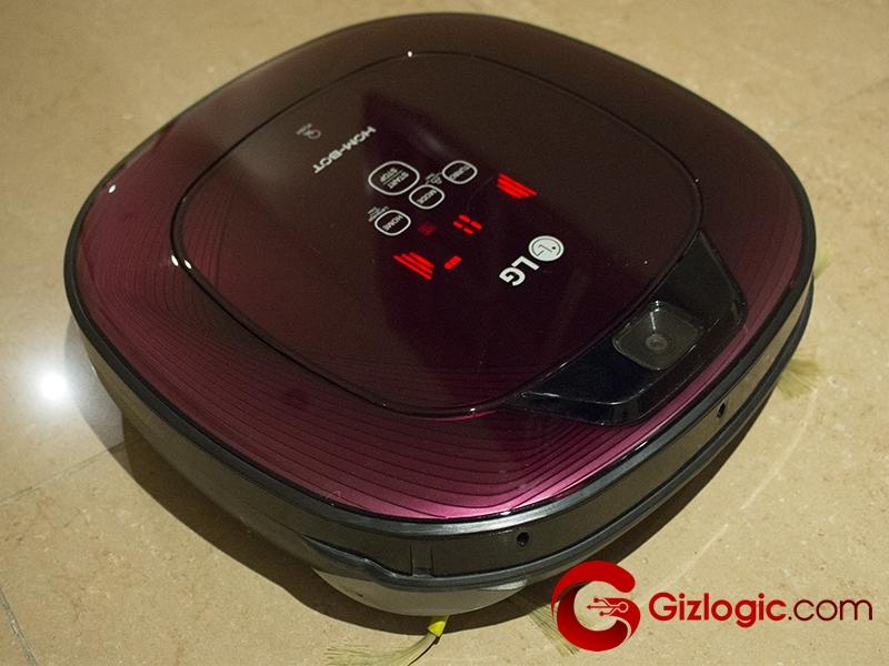 LG VR64701LVMP, este robot aspirador de LG pasa por la GizOficina