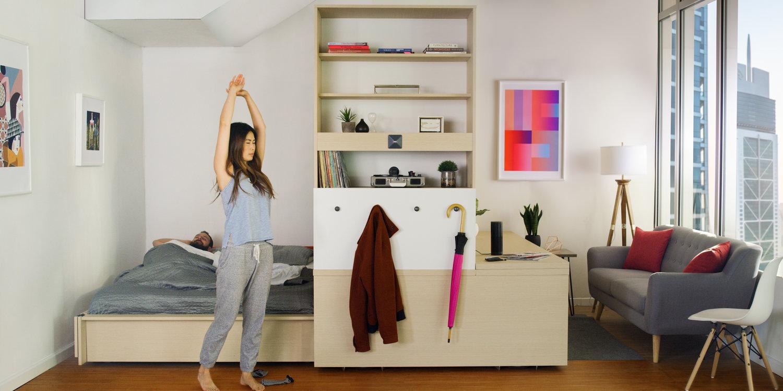 Ori systems muebles inteligentes que aprovechan el espacio - Muebles inteligentes ...