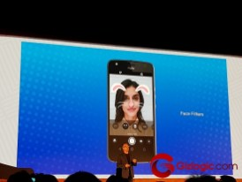 Lenovo Moto X4 Selfies