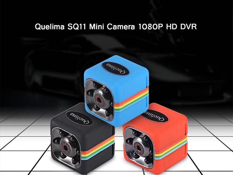Quelima SQ11 Mini, análisis de una cámara de visión nocturna