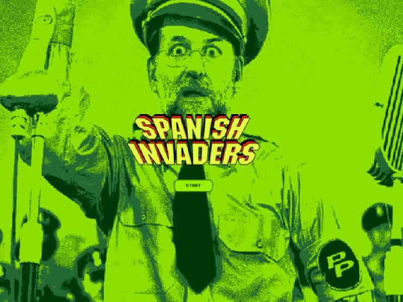"Spanish Invaders, ""españoles, Franco ha vuelto"""