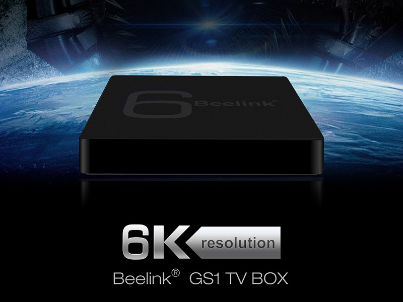 Beelink GS1, una Android TV Box con soporte para 6K