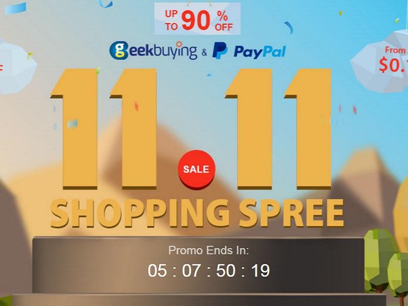 Aprovecha las ofertas del 11.11 de Geekbuying, ¡no te vas a arrepentir!