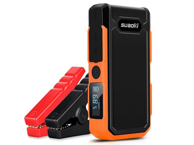 Suaoki U10, arrancador de baterías inteligente y powerbank
