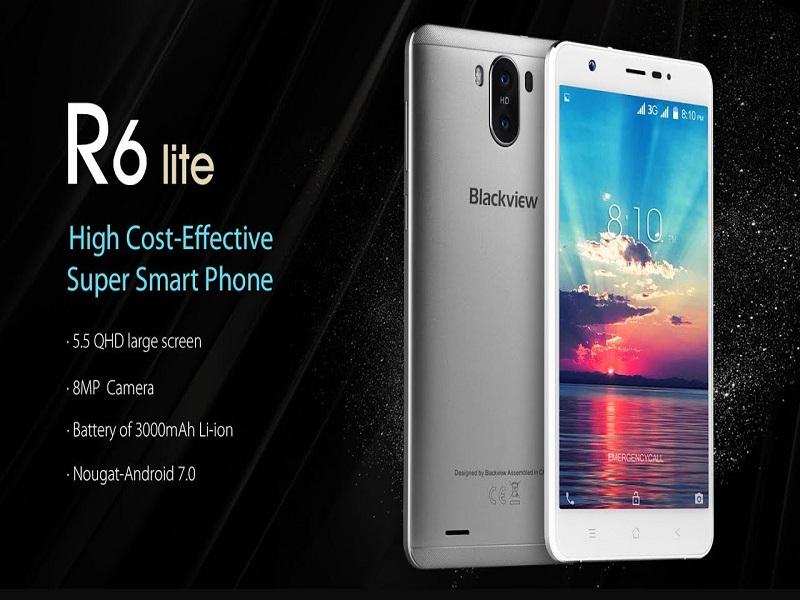 """Blackview R6 Lite, el smartphone de 5,5"""" más barato del 2017"""