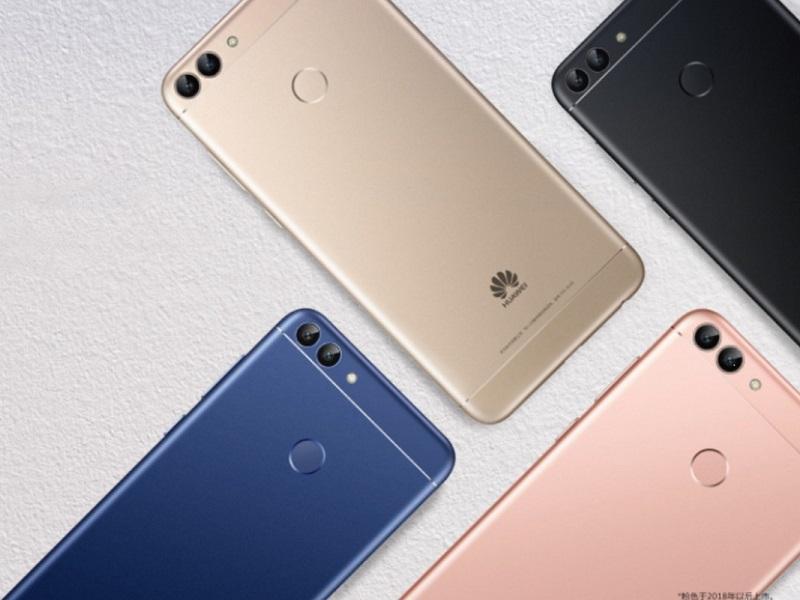 Huawei Enjoy 7S, presentado su segundo teléfono con biseles reducidos