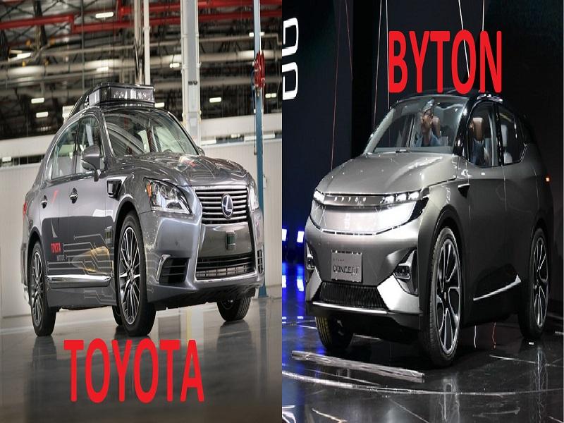 #CES18: Toyota y Byton muestran novedades en conducción autónoma