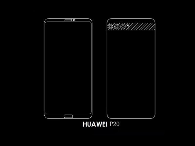 Huawei P20 podría ser el primer smartphone con triple cámara