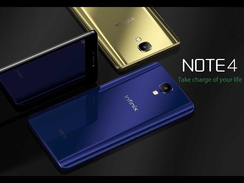 Infinix Note 4 y Note 4 Pro, para los amantes de la batería