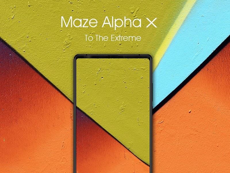 Maze Alpha X, un smartphone que lleva sus mejoras al extremo