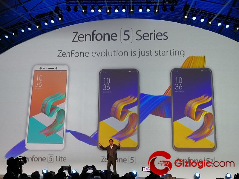 #MWC18: Presentación oficial de los Asus ZenFone 5 y 5Z