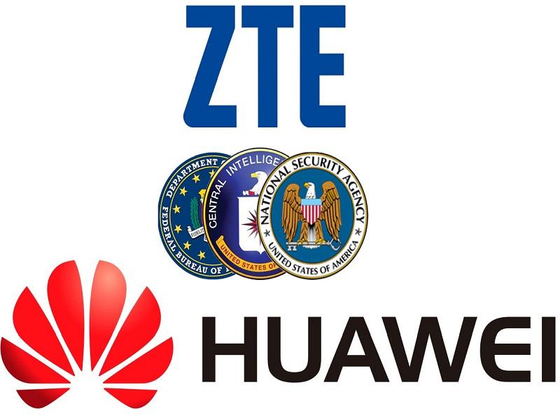 ZTE y Huawei desaconsejadas por el FBI, CIA y NSA