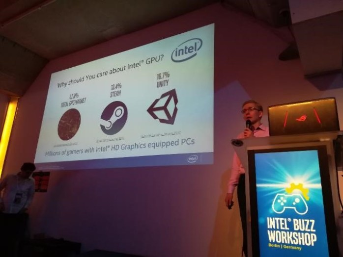 Intel® Buzz Workshop Piotr Perucki sobre la evolución de intel