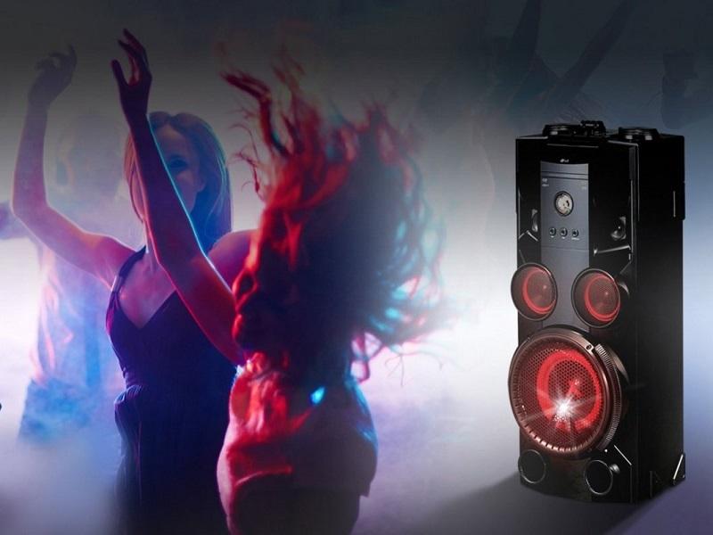 LG OM5560, una minicadena con efectos DJ y Karaoke