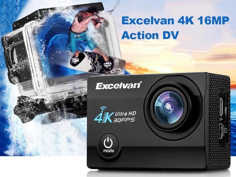 Excelvan Q8, cámara de acción 4K a precio de regalo