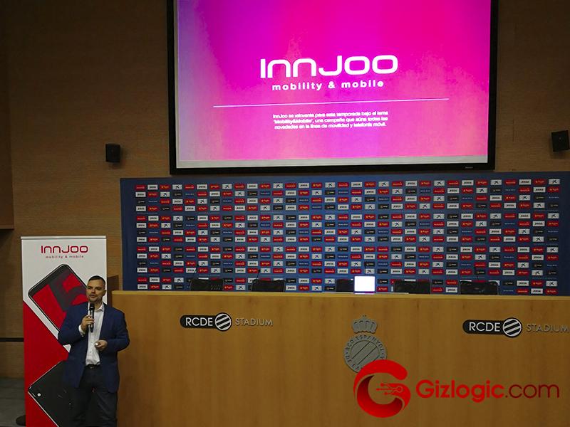 #MWC18: InnJoo presenta el InnJoo 5 y su Cloudbook Gamer