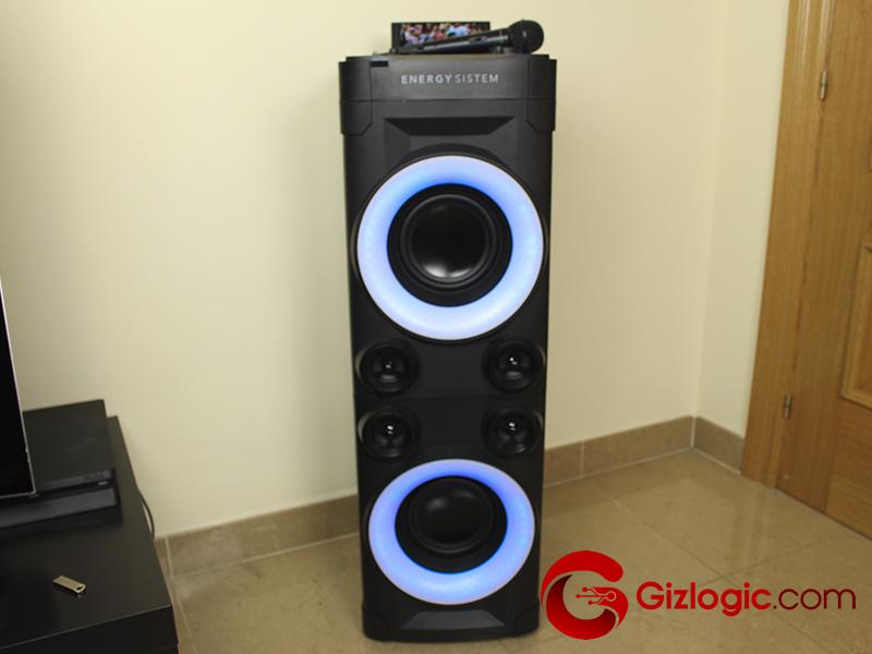 Energy Party 6, torre de sonido para fiestas en tu salón
