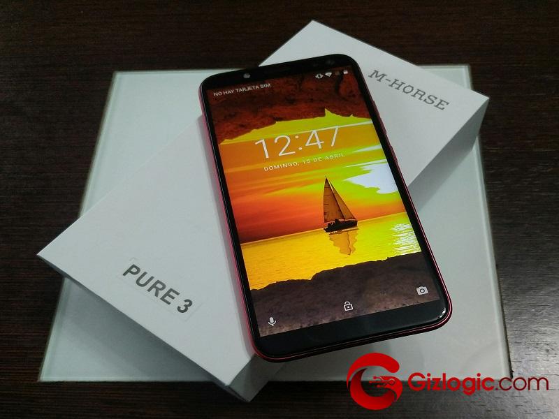 M-HORSE Pure 3, un teléfono inteligente completo y barato