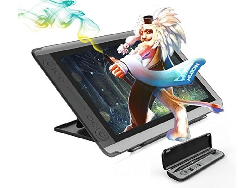 Huion Kamvas GT-156HD V2, una tableta gráfica con pantalla a color