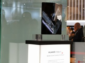 #MWC19: Huawei Mate X, batería