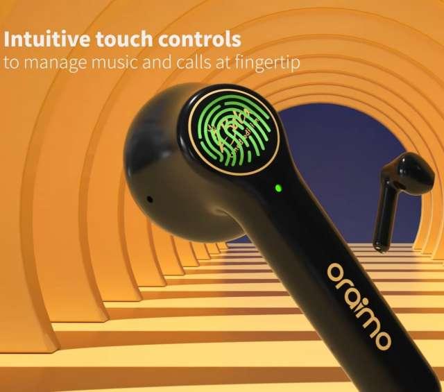 FreePods 2 touch sensor