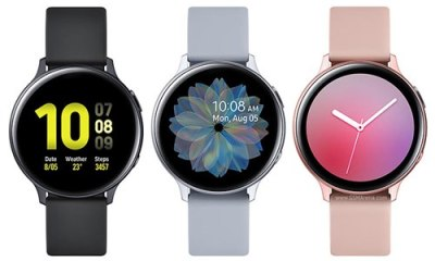 Galaxy Watch Active 2 Rose Gold color