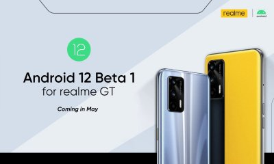 Realme GT Android 12 Beta 1 update