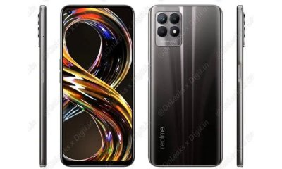 Renders of Realme 8i
