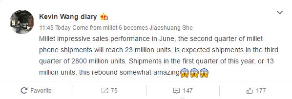 Xiaomi Kevin Wang