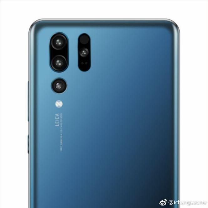 Huawei P30 Pro render rear
