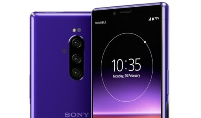 The alleged Sony Xperia 4 with Snapdragon 710 and 21: 9 display may