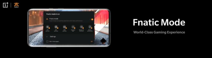 OnePlus 7 Pro Fnatic Mode