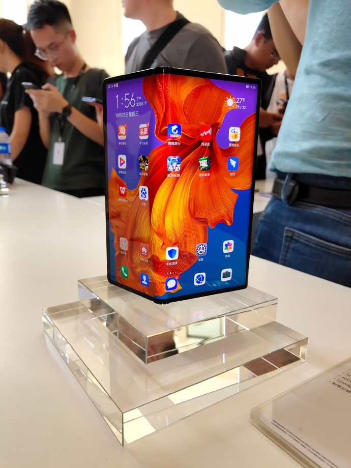 Huawei MAte X 5g - هواوي تعلن وصول جوال Mate X القابل للطي للأسواق بدعم شبكات الجيل الخامس