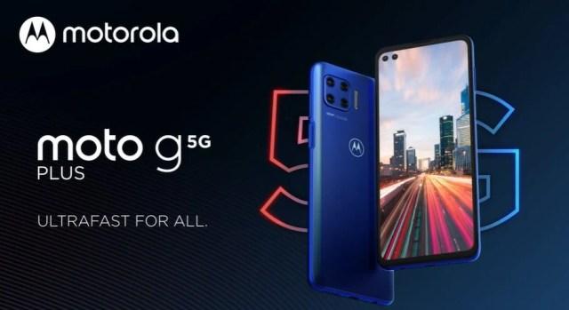 The €349 Moto G 5G Plus has a 90Hz display, 48MP quad cameras and ...