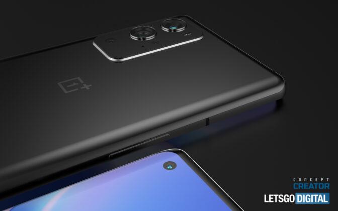 OnePlus 9 Pro 3D CAD Render based on Leaks 03
