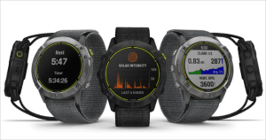 Garmin Enduro smartwatch with battery up to 65 days, solar charging running