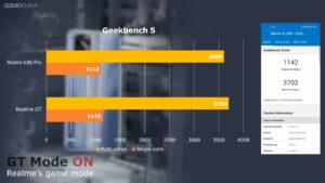 Realme Gt vs Redmi K40 Pro Benchmark Geekbench 5