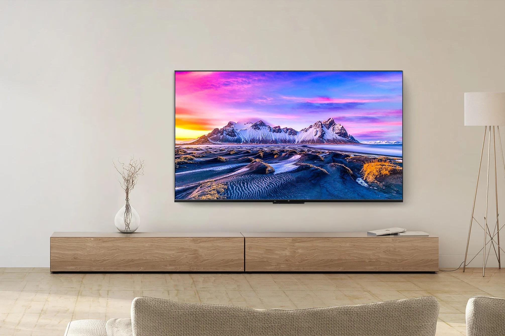 Xiaomi Mi TV P1 Series Launched: New Remote, HDMI 2.1, Dolby Vision, & More - Gizmochina