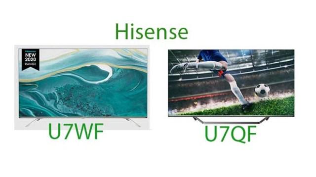 Difference Between U7WF And U7QF Models