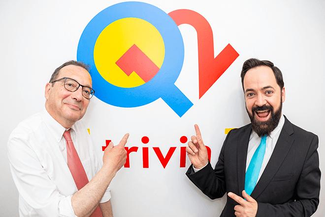Los presentadores de Q12 Trivia serán Juanjo de la Iglesia y Toni Cano