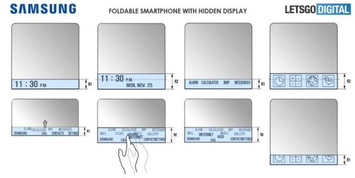 Foto de planos del Galaxy X