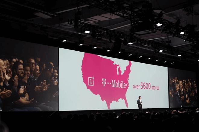 Pete Lau anunció el partnership con T-Mobile durante el evento de lanzamiento del OnePlus 6T