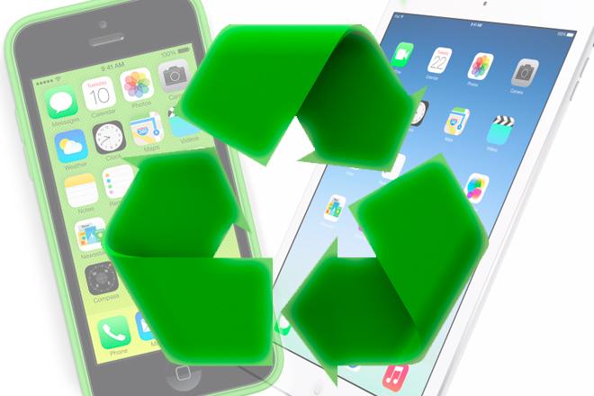 España: ¡A reciclar iPhone e iPad!