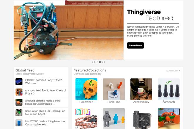 Thingiverse-impresion-3D-entresD-links-imagenes-modelos