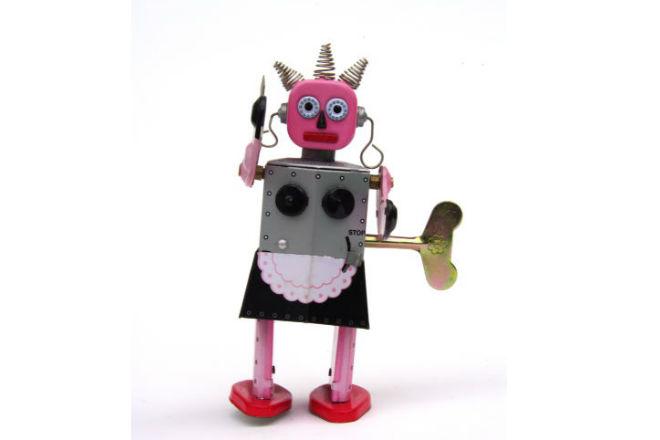 robot limpieza trabajo
