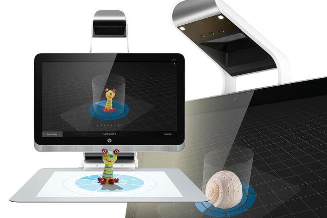 Sprout by HP: el primer ordenador que permite el escaneado total 3D