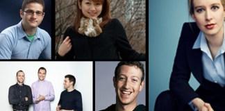 Los 10 millonarios más jóvenes de la tecnología