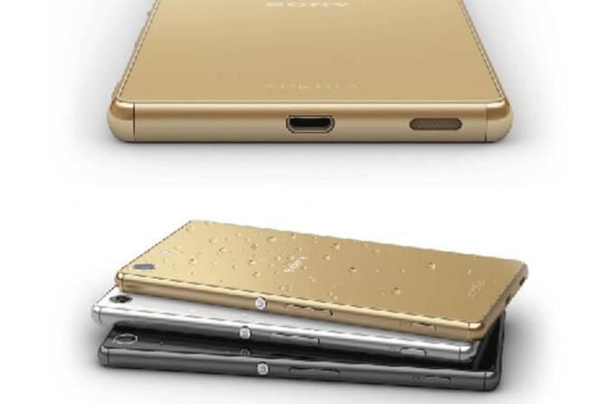 Sony Xperia M5 Diseño