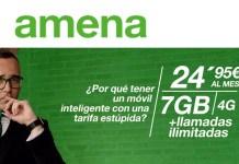 Amena lanza oferta de Internet Móvil 4G por 29,45 euros al mes